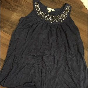 French Laundry Tank crinkle Top